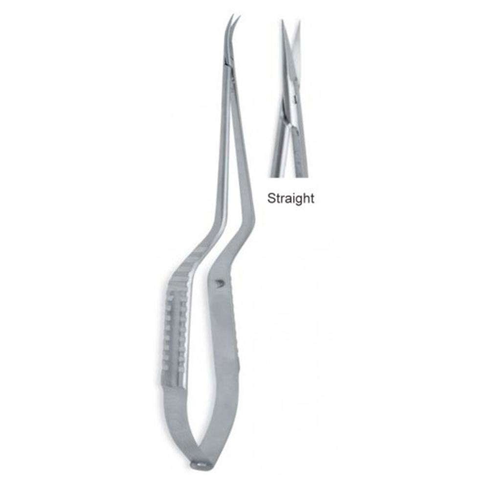 Micro Scissors Spring Type Bayonet Shape